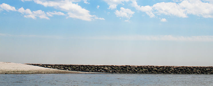 panoramic ocean line