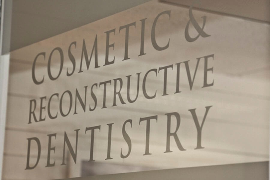 fairfield cosmetic dentistry sign